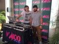 Brian & PhiLL at Demi Lovato Music Debut
